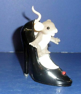 Fitz & Floyd Charming Tails- Fun is Good for the Sole- New in Box- 89/281