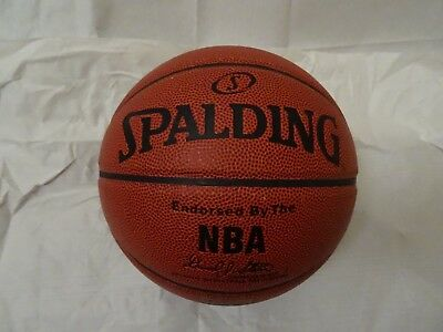 Spalding NBA Grip Control Indoor/Outdoor Composite Leather Basketball