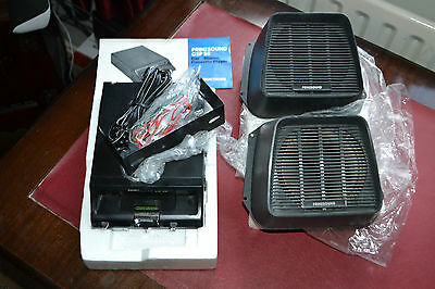 Classic Vintage Car Player And Speakers New Old Stock Prinzsound Csp-55