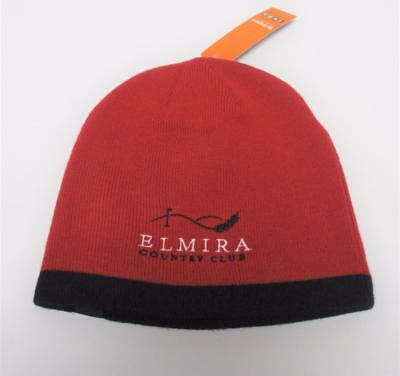 New Adult El Mira Country Club acrylic toque knit cap beanie by Pukka