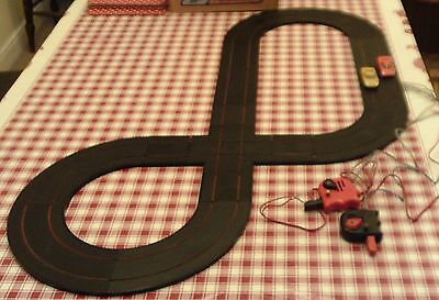 Minic Motorway Track with Ferrari and GT40 reconditioned layout