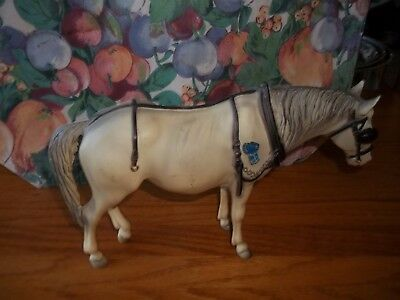 Breyer Horse Blue Ribbon Sticker HALTER & HARNESS
