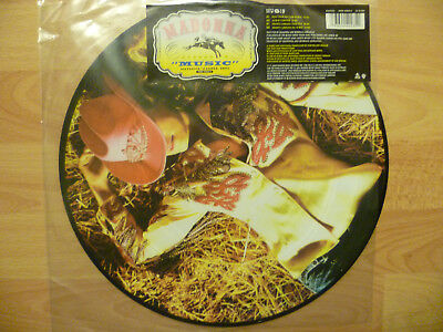 "Madonna - Music PICTURE DISC 12""ep Released only in Germany 2000"