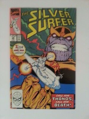 Silver Surfer 1991 Issue 34 THANOS RETURNS!  Good Condition