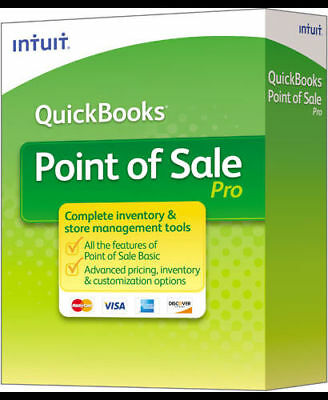 Genuine Intuit QuickBooks Pro Point of Sale Software V12.0  - 2017 Released