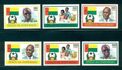 Guinea-Bissau MNH Selections: Scott #354-359 Cabral Birthday Independence CV$30+