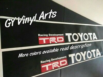 Toyota Windshield Decals Banners Cars Sticker Sun Visor Strip JDM TRD