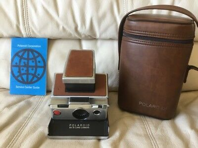 Polaroid SX-70 Instant Camera-Tested&Working-Great Condition-Ships SameDay