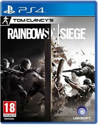 Videogioco Tom Clancy's Rainbow Six Siege Ps4 Gioco Play Station 4 Italiano Pal