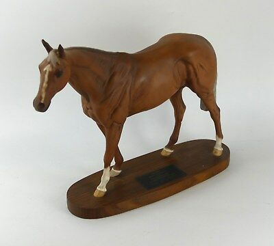 Beswick Large GRUNDY issued 1977-89 Model 2558 Connoisseur Horses Perfect 28.5cm