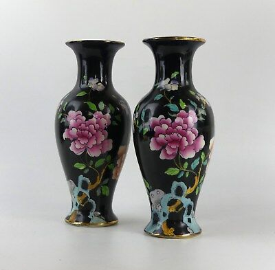 Pair Of Art Nouveau Woods and Sons Frederick Rhead Vases Art Pottery
