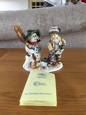 The Leonardo Collection Winter Pastime By Christine Haworth(Boxed)