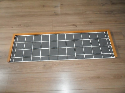 Tiled Hearth-Wood/Grey Tiles.Excellent Condition.
