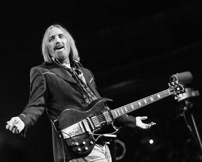 American Rock Singer TOM PETTY Glossy 8x10 Photo Print Heartbreakers Poster