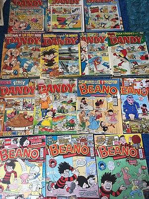 14 Dandy Comics Dated 2000-2010 Collectible Job Lot Collection