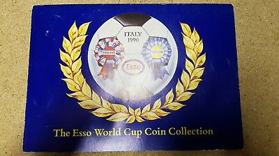 1990 Esso World Cup Coin Collection - Complete