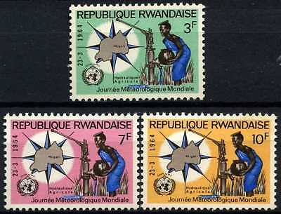 Rwanda 1964 SG#52-54 World Meterological Day MNH Set #D58742