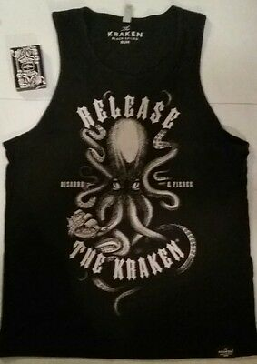LG Kraken Rum Tank Top & Playing Cards