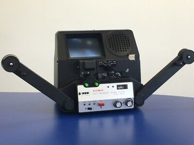 Goko RM-3D Motorised Super 8 Cine Film Editor WITH Sound