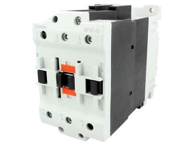 11BF50C0024 Contactor3-pole 24VDC 50A NO x3 DIN Series BF -50÷70°C