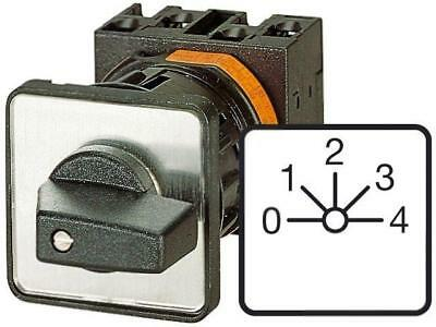 T0-6-8282/E Switch step cam switch 5-position 20A 0-1-2-3-4 6.5kW EATON ELECTRIC