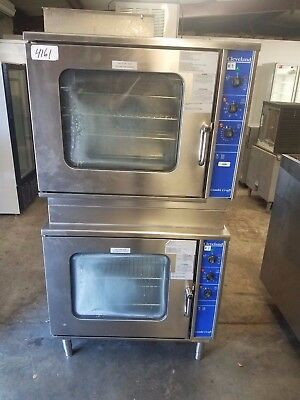 CLEVELAND DOUBLE STACK ELECTRIC Combi STEAM CONVECTION OVEN CCE106M