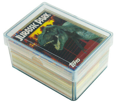 Jurassic Park Movie 1993 Topps Complete Base Card & Puzzle Sticker Set 88 + 11