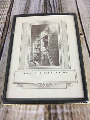 Vintage Bookplates Antioch Publishing Unused Sealed in Box From the Library of
