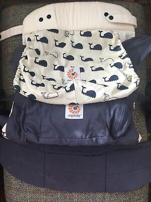 Ergo Baby Original Carrier With Infant Insert - Whale Print