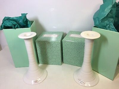 Sophie Conran Portmeirion Candle Holders Pair Boxed
