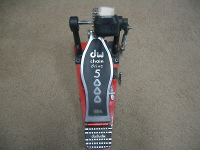 DW 5000 Dual Chain Single Bass Drum Pedal