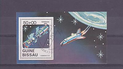1983 Guinea-Bissau - Cosmonautics Day - Sg Ms750 - Used (Cto)