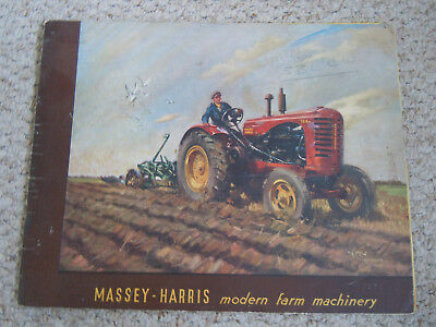 @Vintage Massey Harris  Farm Machinery Booklet-32 Pages@