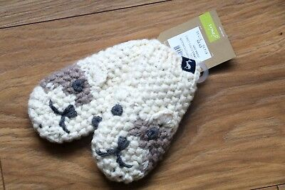 Fabolous Joules Baby Boys Girls Puppy Dog Knit Gloves New&tags Rrp9.95 6-12 Mths