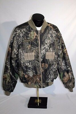 COLUMBIA Interchange Camo Insulated Reversible Bomber Jacket Liner, Mens Large