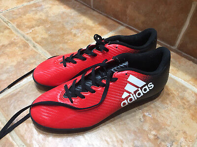 adidas X 16.4 red astro turf football size 7 trainers
