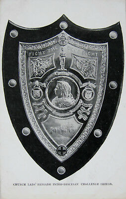 Early Printed Postcard. Church Lads' Brigade Challenge Shield.
