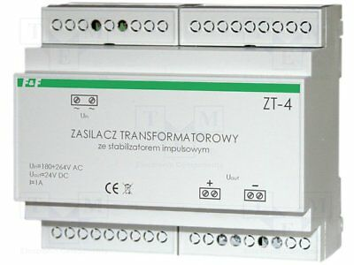 ZT-2 Pwr sup.unit transformer type stabilised 25W 12VDC 2A 742g F AND F