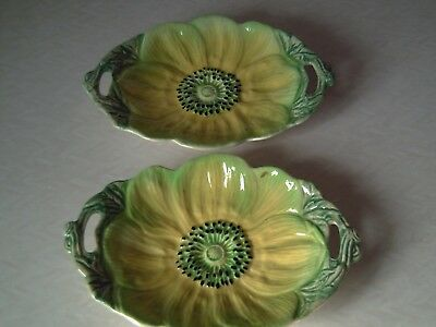 Vintage Pair Staffordshire Shorter And Son  Dishes...