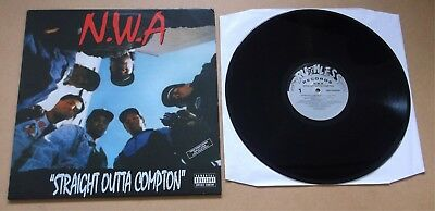 N.W.A Straight Outta Compton 2013 UK 180 gram vinyl LP + MP3
