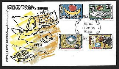 first day cover 1972