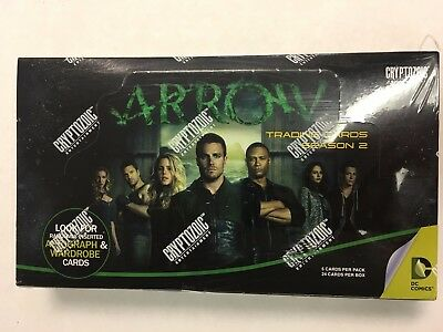 Cryptozoic DC Comics Green Arrow Season 2 Hobby Box Factory Sealed Trading Cards
