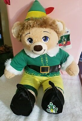 "Build-a-Bear 16"" Buddy the ELF with outfit"