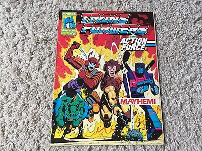 Transformers comic #239 Marvel UK 14th Oct 89