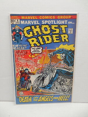 Marvel Comic Book Spotlight #6 Second Appearence Ghost Rider Mike Ploog Art