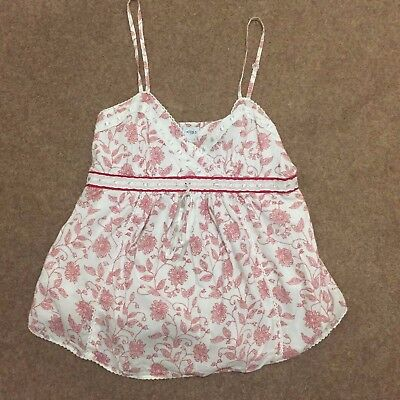 MODA MOTHERCARE 2 X Ladies Maternity Floral Cami Tops Sizes 10 & 12