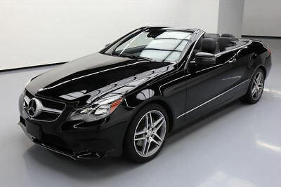 2014 Mercedes-Benz E-Class  2014 MERCEDES-BENZ E350 CONVERTIBLE P1 NAV REAR CAM 49K #274862 Texas Direct