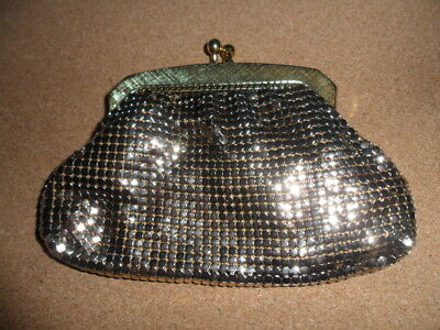 Lovely Vintage Gold GLOMESH Smal COIN PURSE METAL MESH many more listed