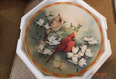 Lenox Collectible 'Springs Courtship' Plate