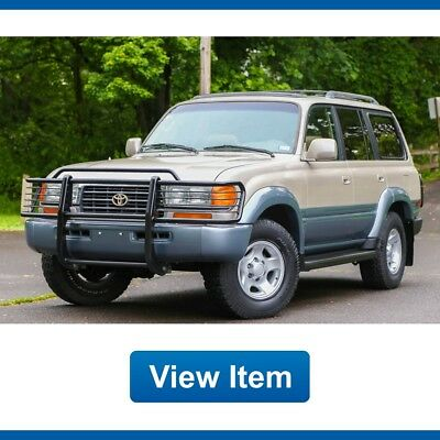 1997 Toyota Land Cruiser Base Sport Utility 4-Door 1997 Toyota Land Cruiser Brush Guards 3rd Row Tow Serviced Southern CARFAX FJ80